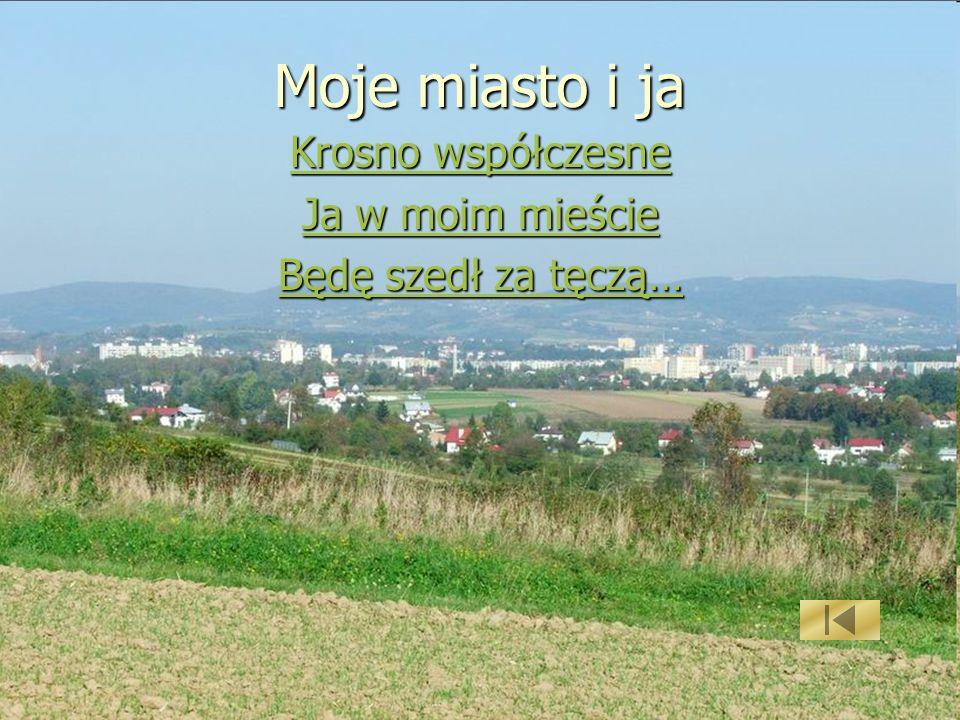 Moje miasto i ja Krosno współczesne Ja w moim mieście