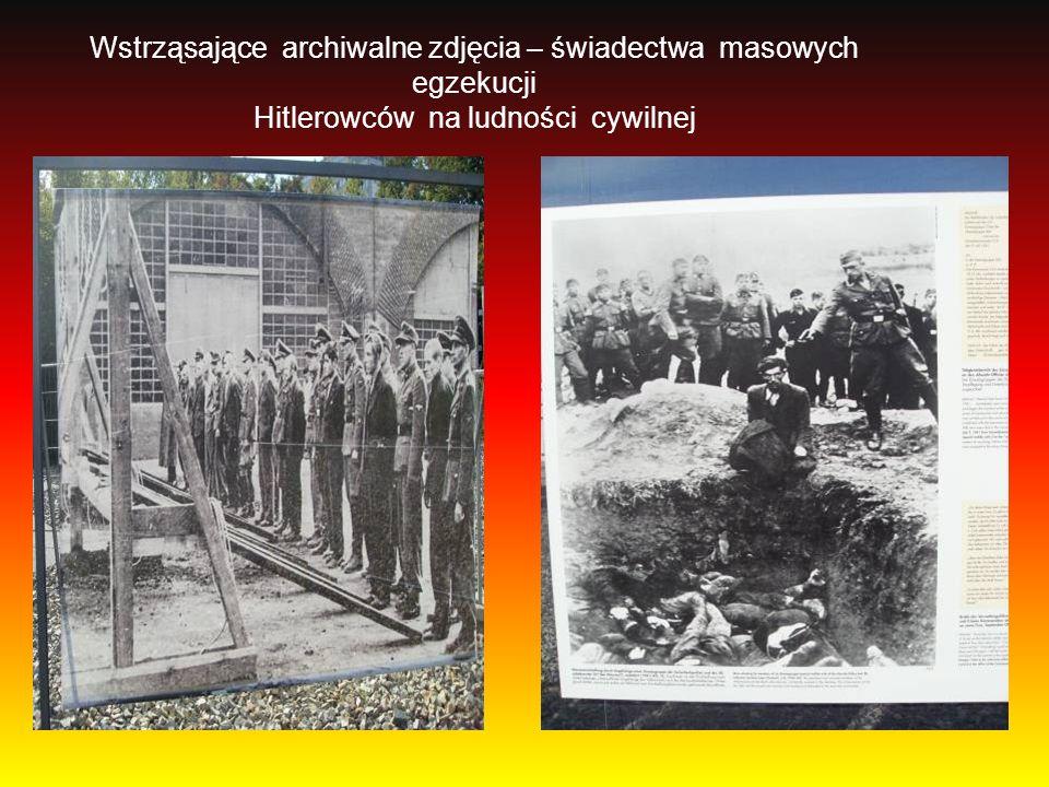 Wstrząsające archiwalne zdjęcia – świadectwa masowych egzekucji