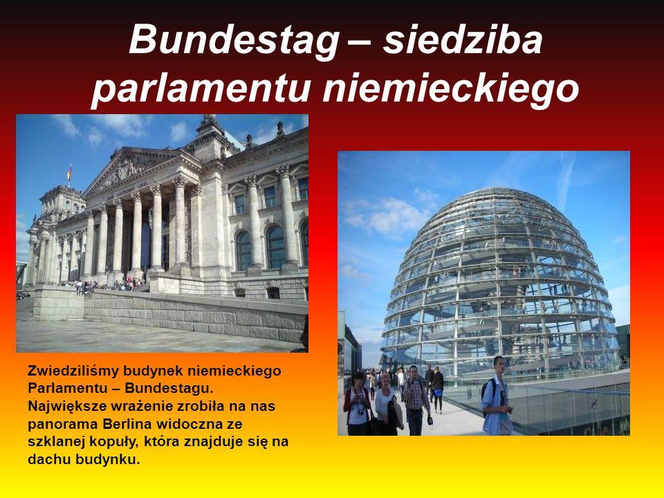 Bundestag – siedziba parlamentu niemieckiego
