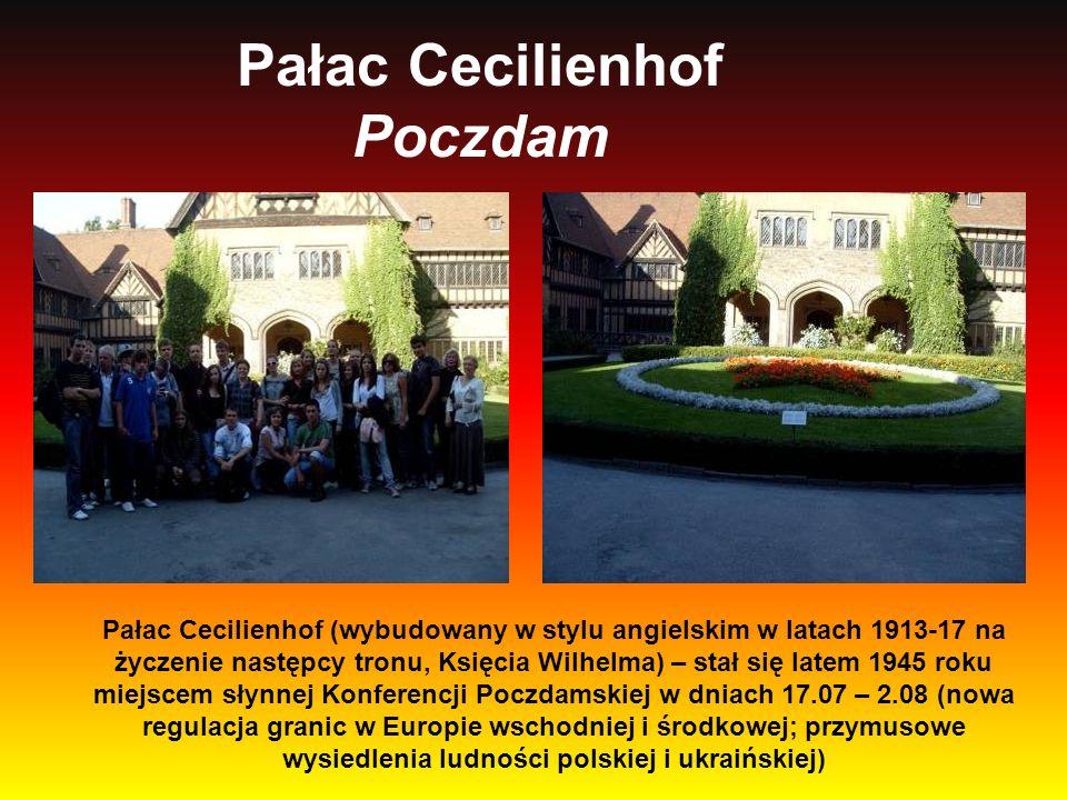 Pałac Cecilienhof Poczdam