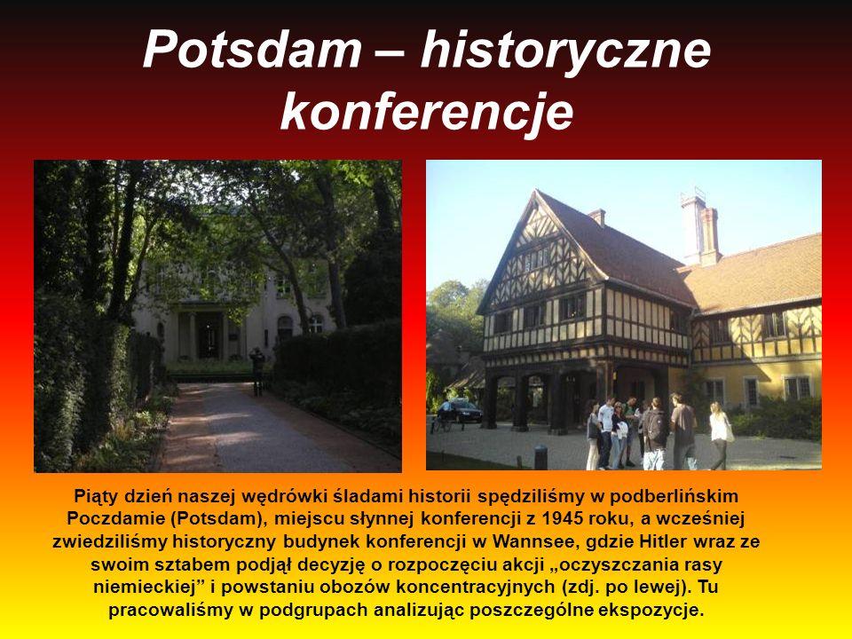Potsdam – historyczne konferencje