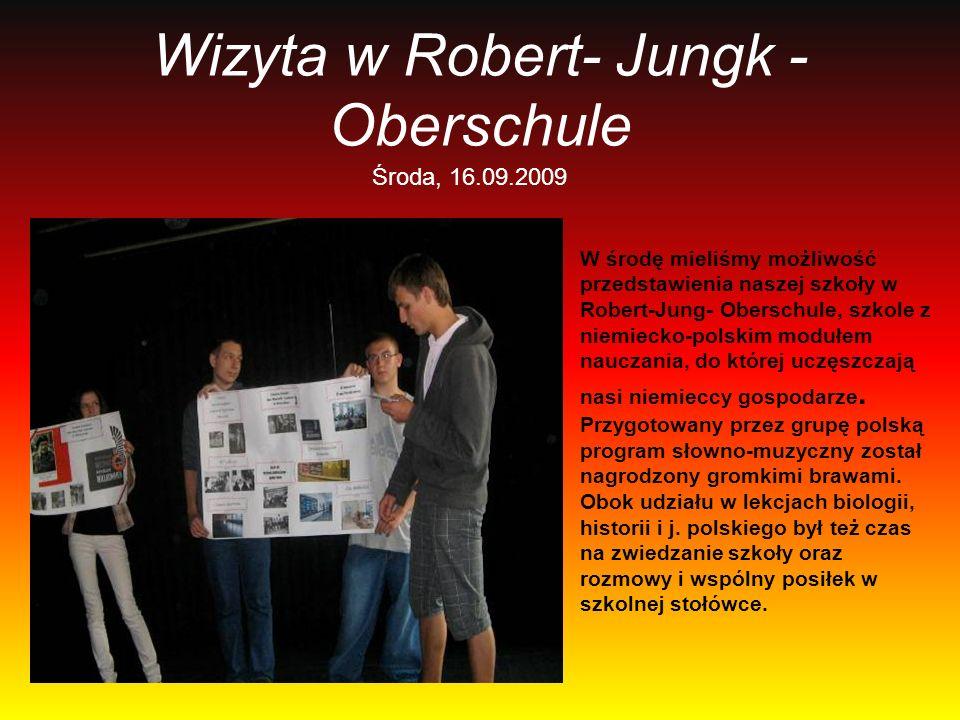 Wizyta w Robert- Jungk -Oberschule