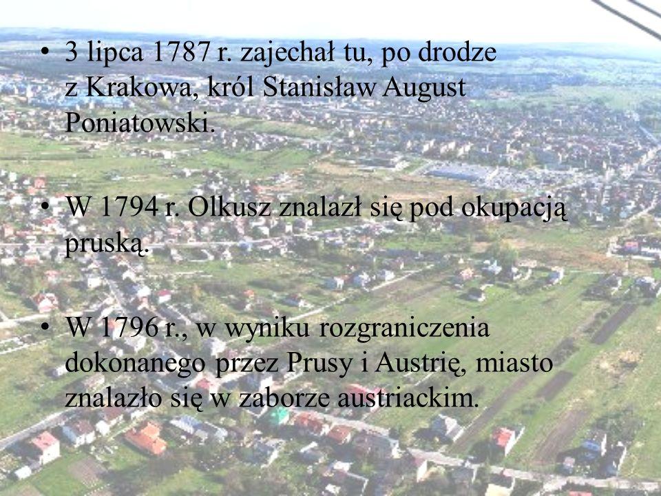 3 lipca 1787 r. zajechał tu, po drodze z Krakowa, król Stanisław August Poniatowski.