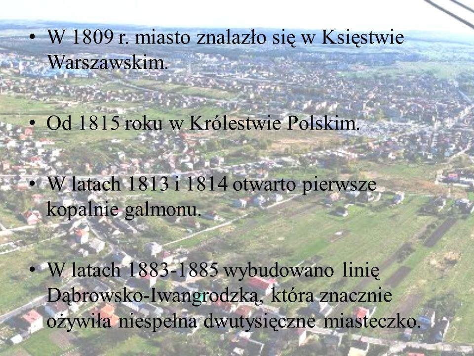 W 1809 r. miasto znalazło się w Księstwie Warszawskim.