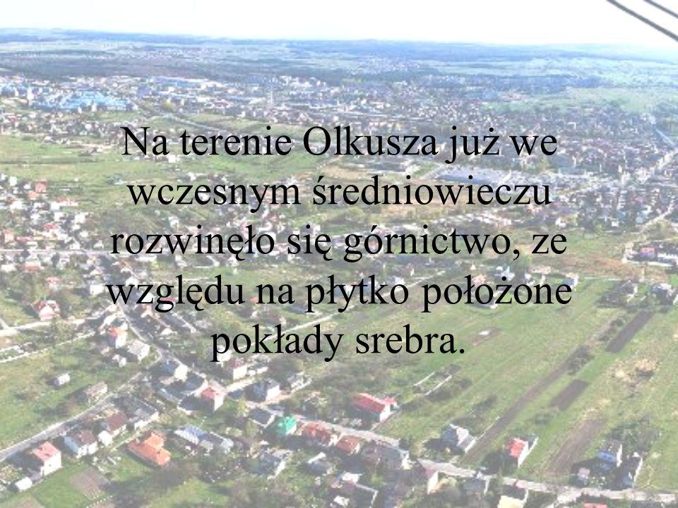 Na terenie Olkusza już we wczesnym średniowieczu rozwinęło się górnictwo, ze względu na płytko położone pokłady srebra.