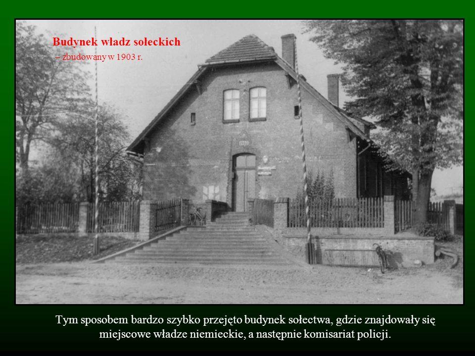 Budynek władz sołeckich – zbudowany w 1903 r.