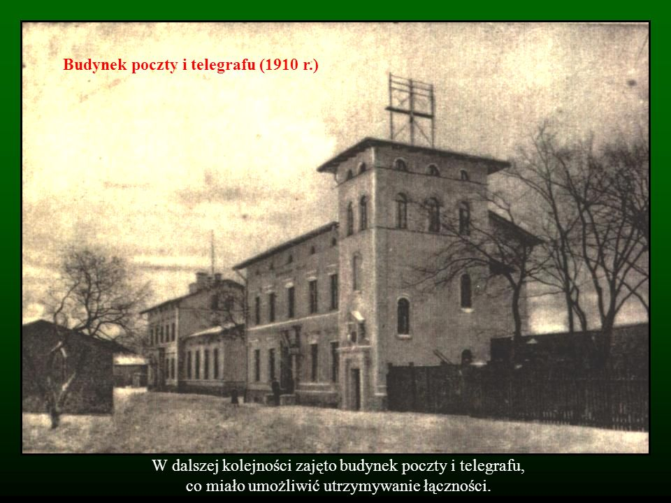 Budynek poczty i telegrafu (1910 r.)