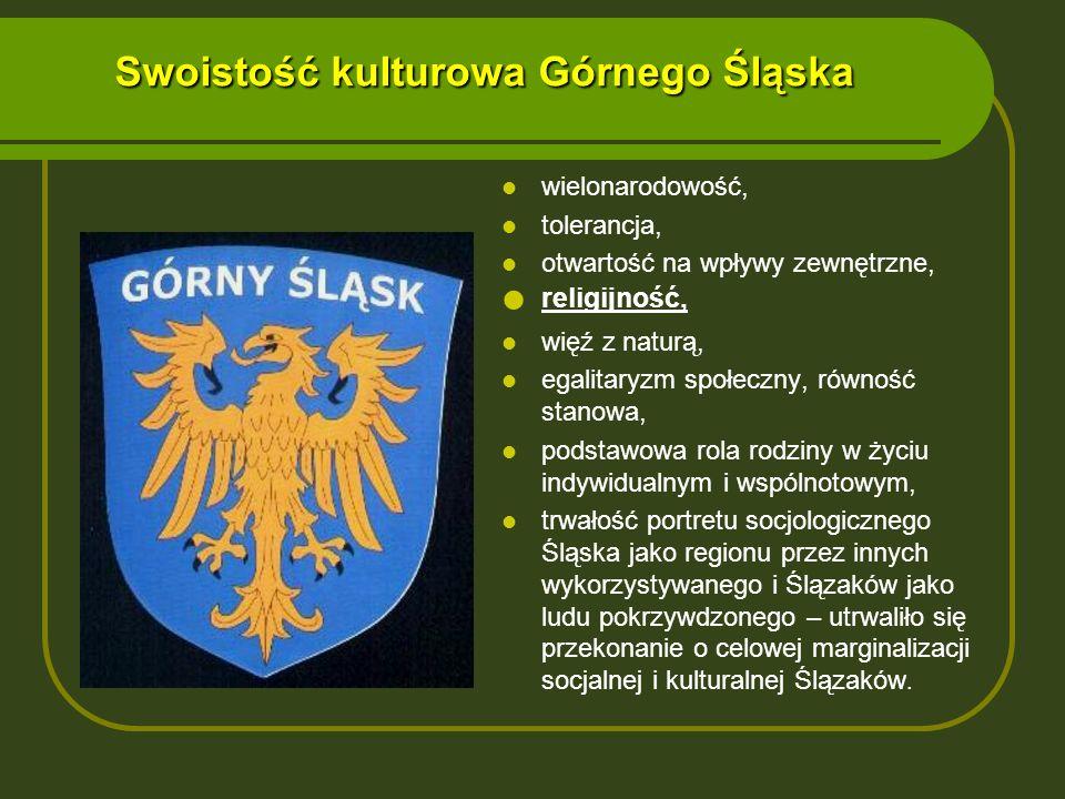 Swoistość kulturowa Górnego Śląska