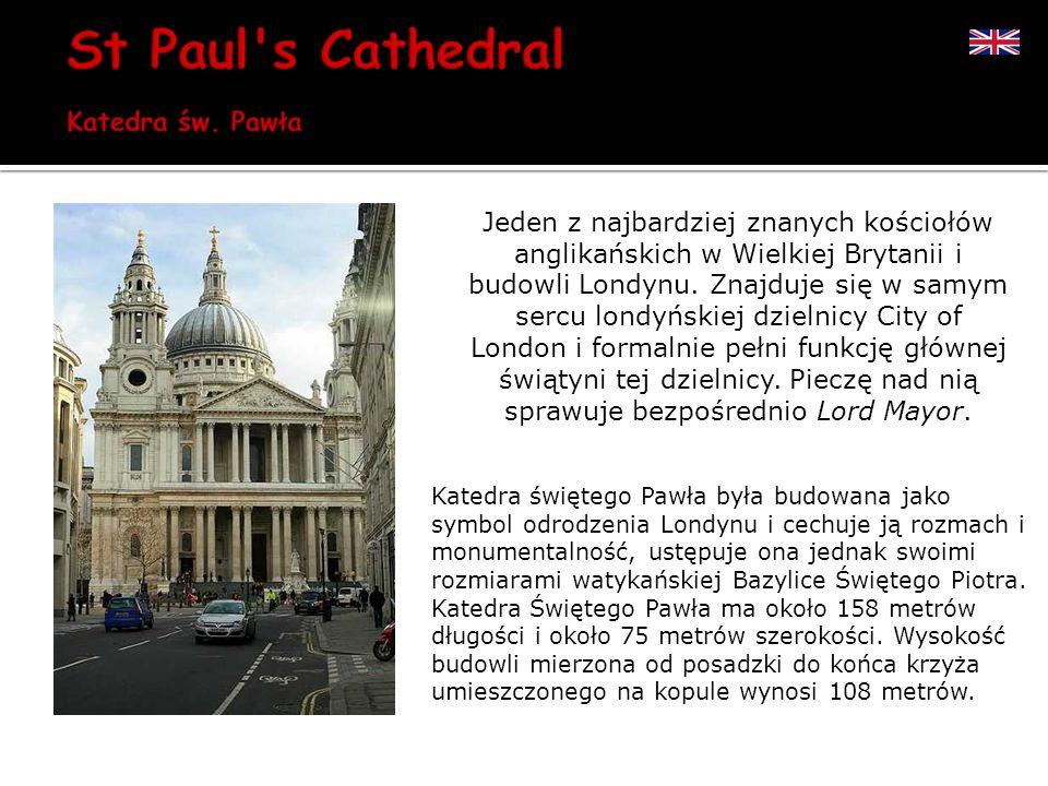 Jeden z najbardziej znanych kościołów anglikańskich w Wielkiej Brytanii i budowli Londynu. Znajduje się w samym sercu londyńskiej dzielnicy City of London i formalnie pełni funkcję głównej świątyni tej dzielnicy. Pieczę nad nią sprawuje bezpośrednio Lord Mayor.