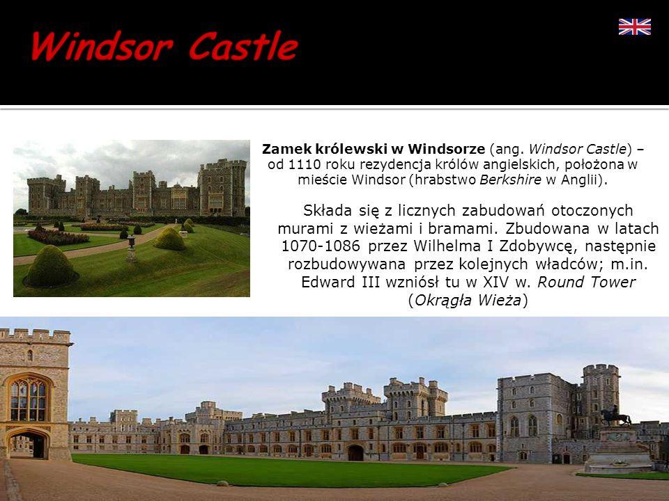 Zamek królewski w Windsorze (ang