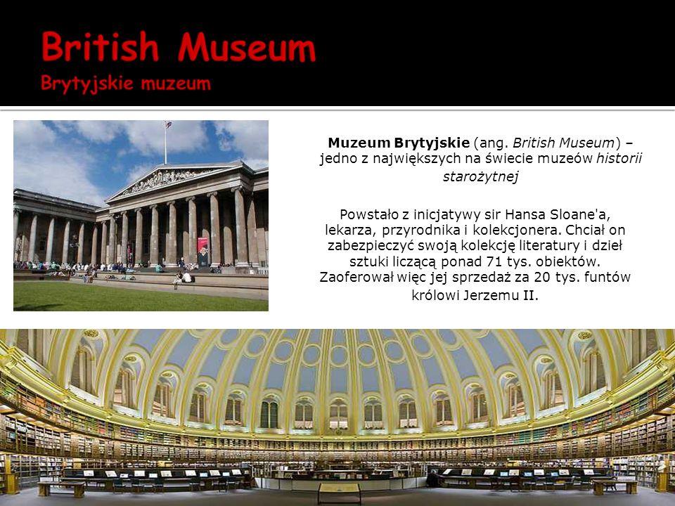 Muzeum Brytyjskie (ang