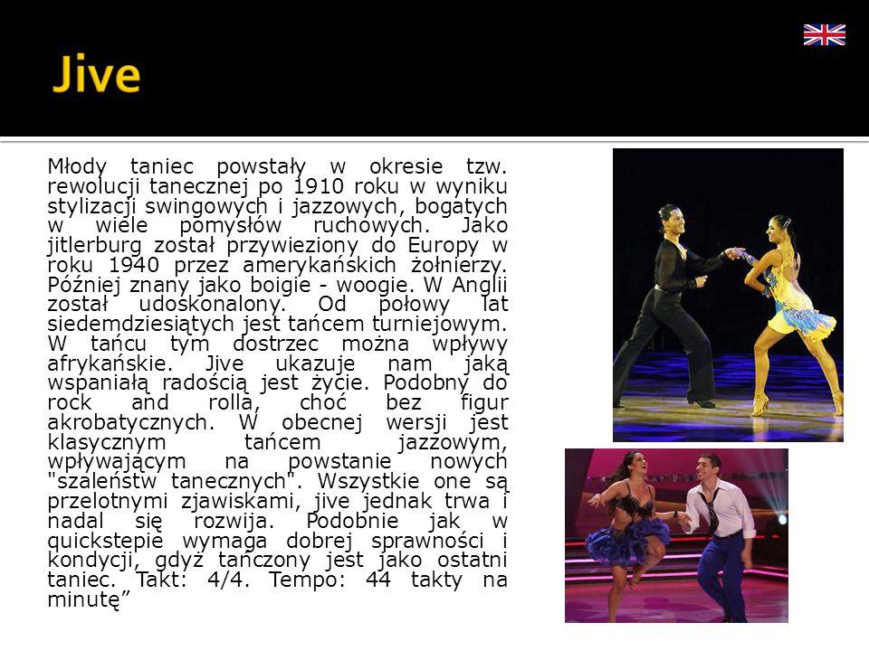 Młody taniec powstały w okresie tzw