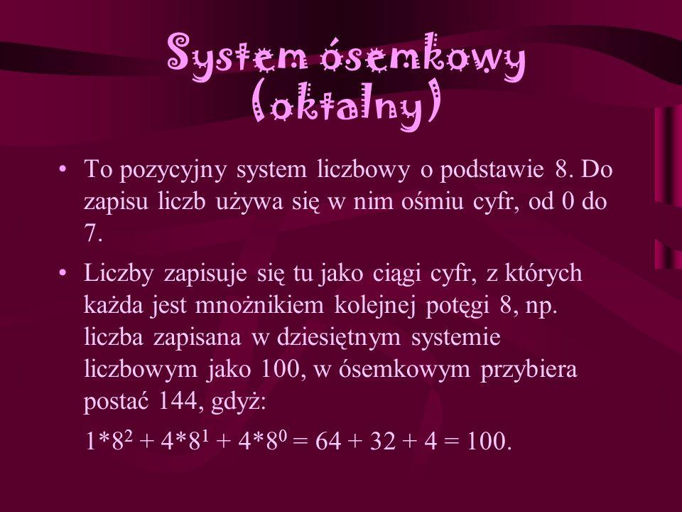 System ósemkowy (oktalny)
