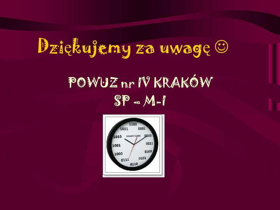 POWUZ nr IV KRAKÓW SP – M-I