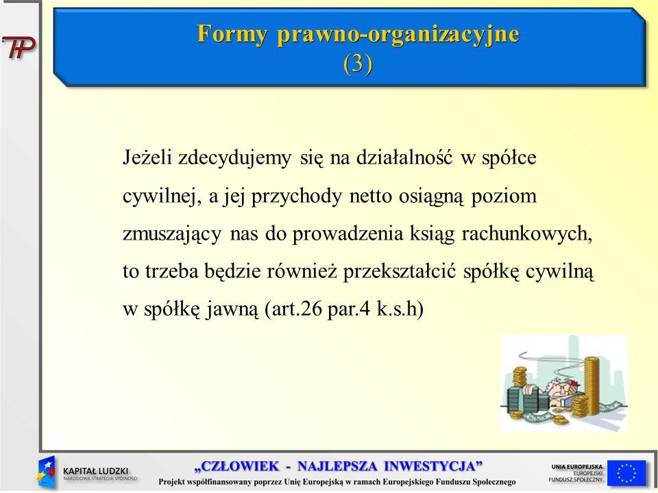 Formy prawno-organizacyjne (3)