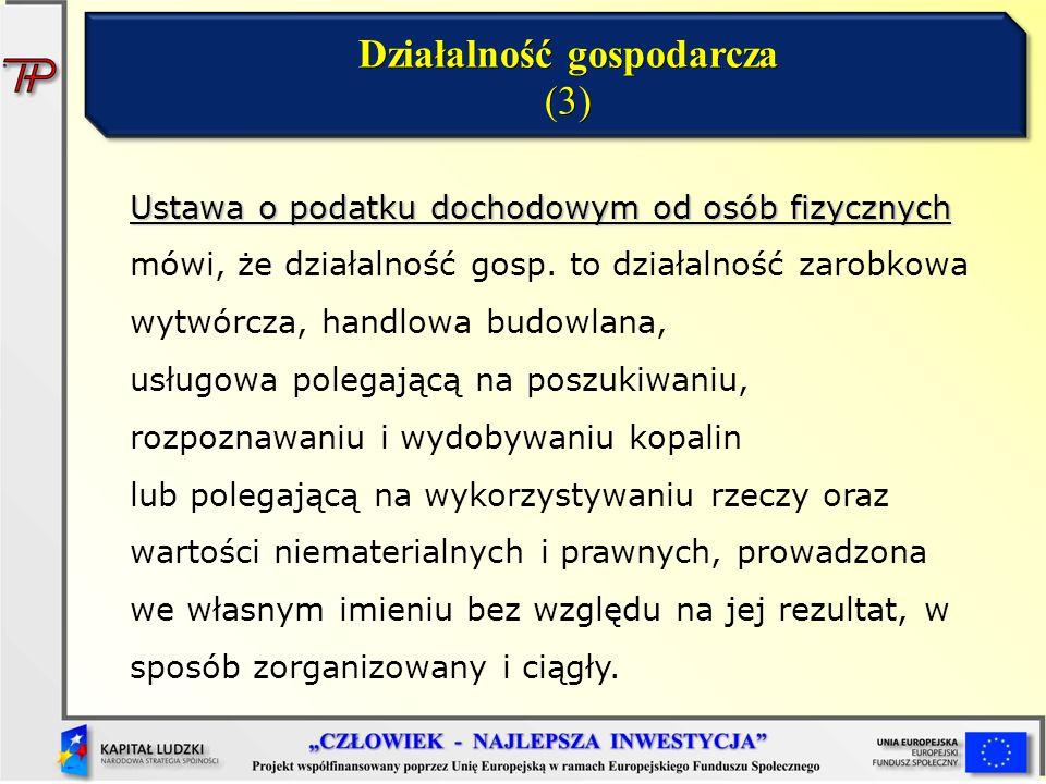 Działalność gospodarcza (3)