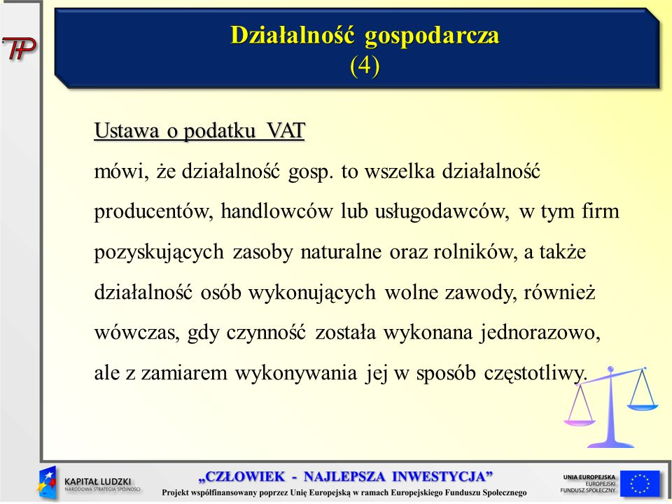 Działalność gospodarcza (4)