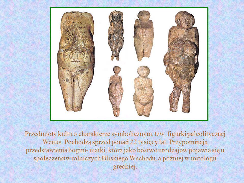 Przedmioty kultu o charakterze symbolicznym, tzw