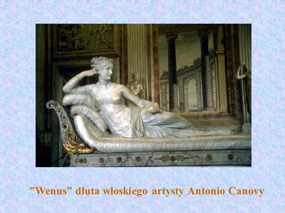 Wenus dłuta włoskiego artysty Antonio Canovy