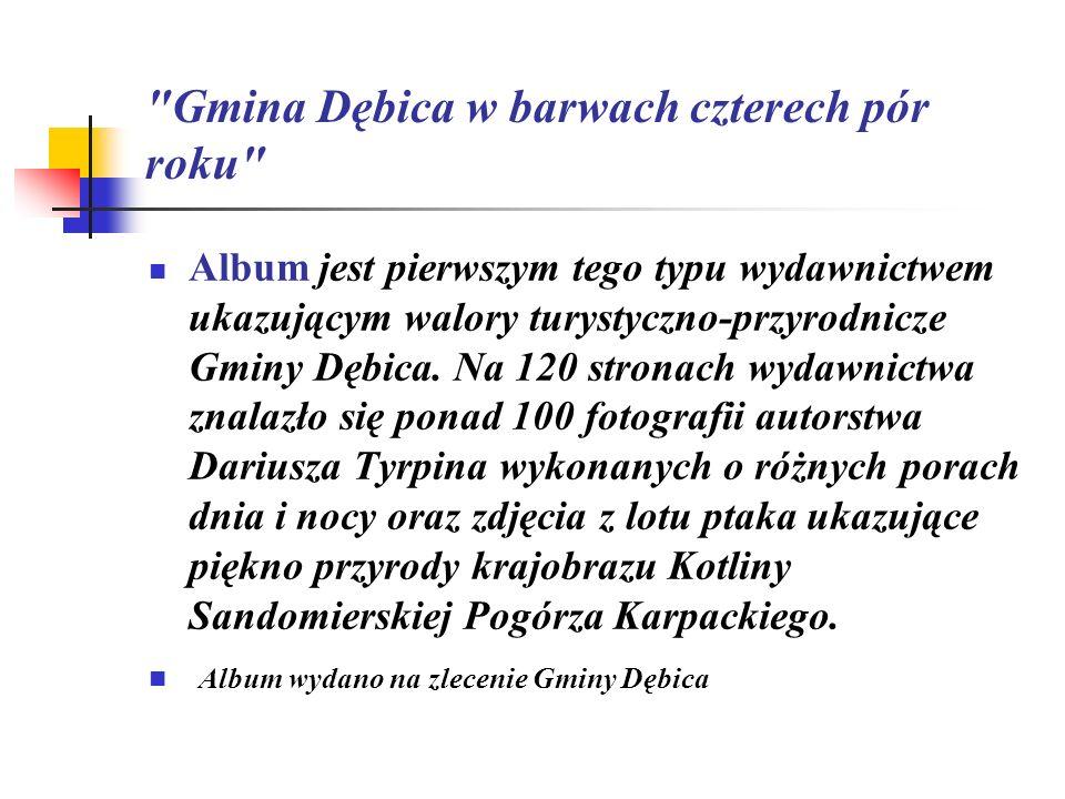 Gmina Dębica w barwach czterech pór roku