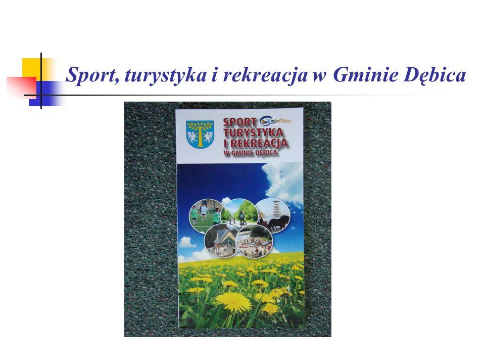 Sport, turystyka i rekreacja w Gminie Dębica