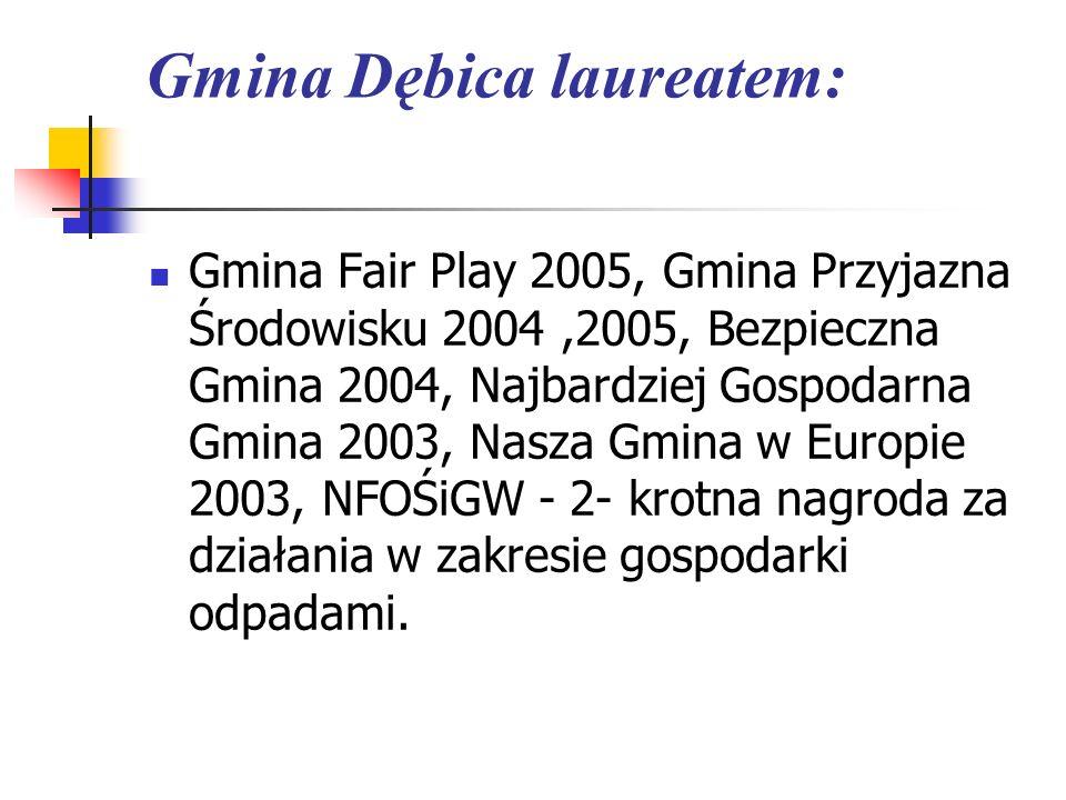 Gmina Dębica laureatem: