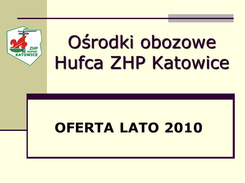 Ośrodki obozowe Hufca ZHP Katowice