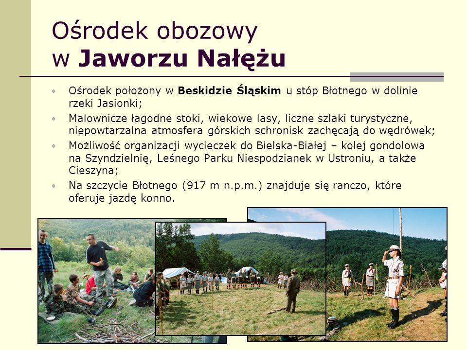 Ośrodek obozowy w Jaworzu Nałężu