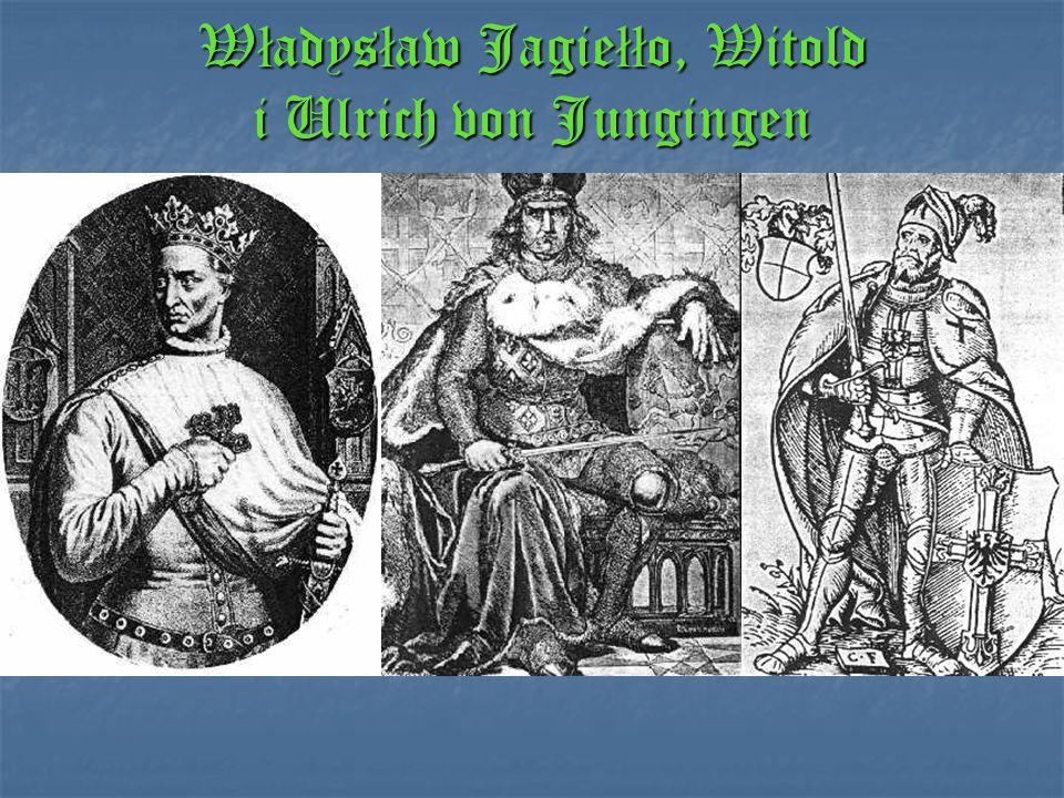 Władysław Jagiełło, Witold i Ulrich von Jungingen