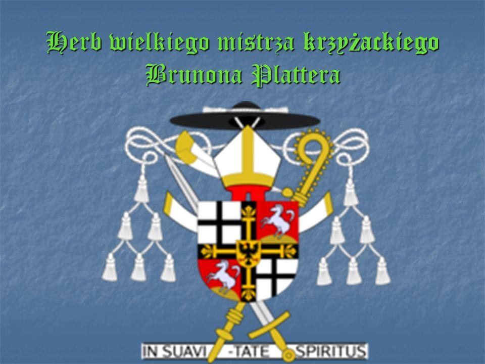 Herb wielkiego mistrza krzyżackiego Brunona Plattera
