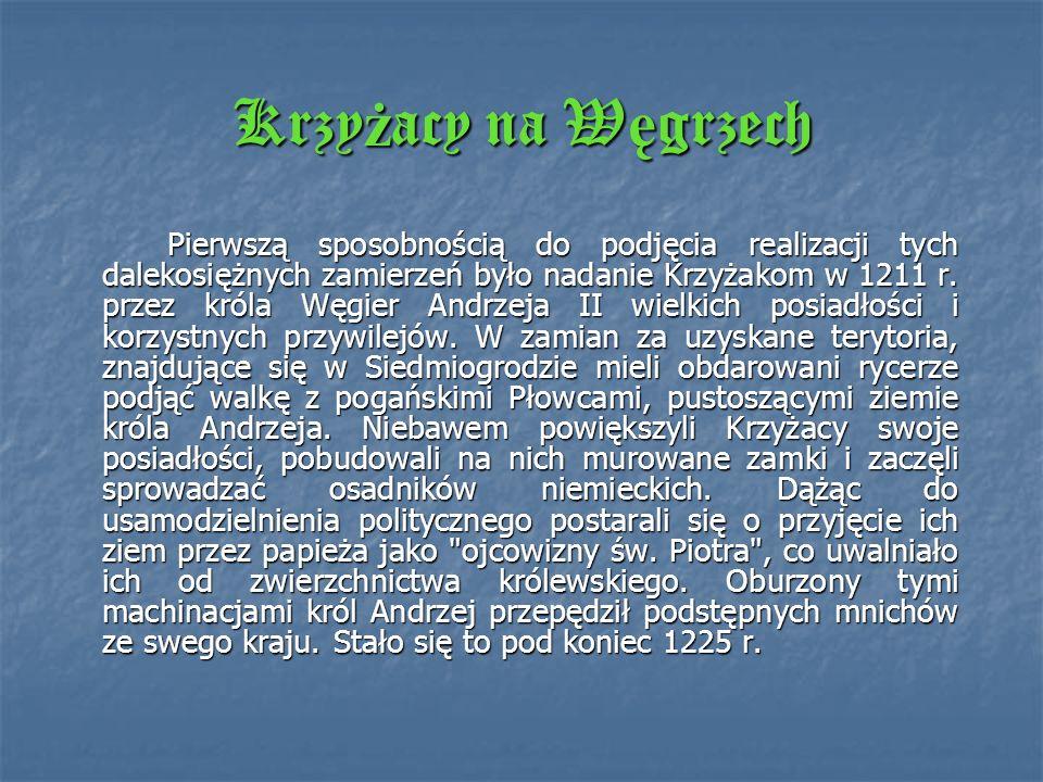 Krzyżacy na Węgrzech