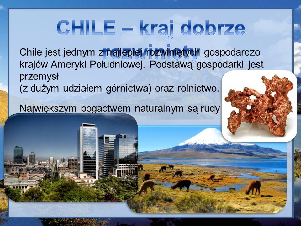 CHILE – kraj dobrze rozwinięty