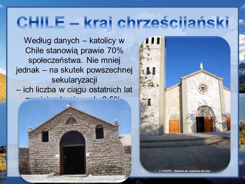 CHILE – kraj chrześcijański