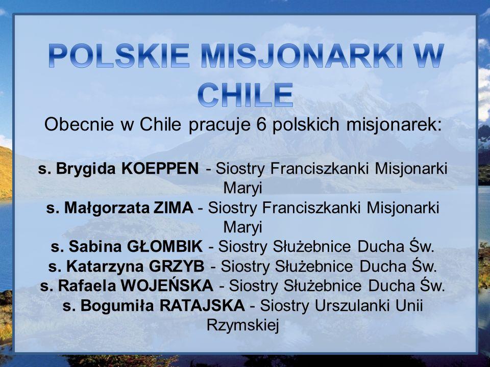 POLSKIE MISJONARKI W CHILE