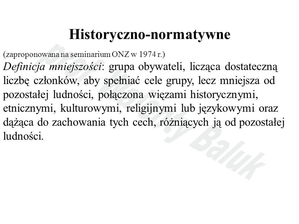 Historyczno-normatywne