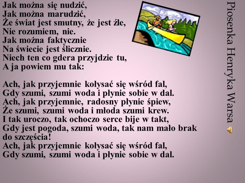 Piosenka Henryka Warsa