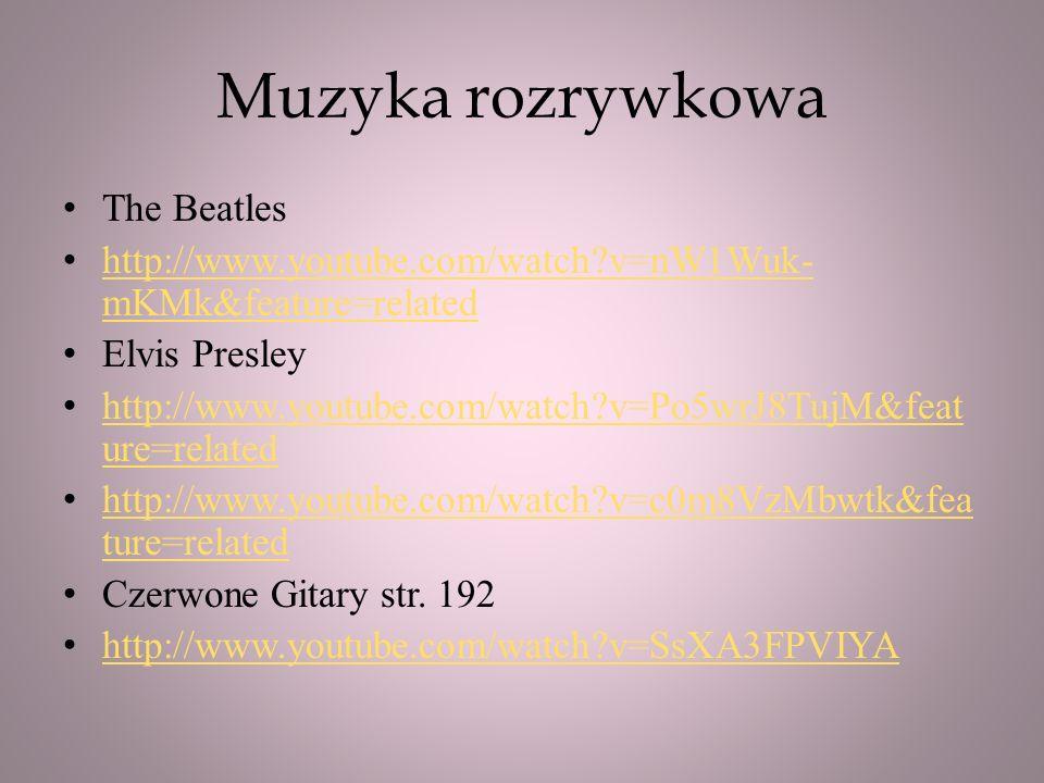 Muzyka rozrywkowa The Beatles