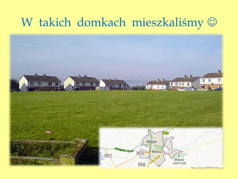 W takich domkach mieszkaliśmy 