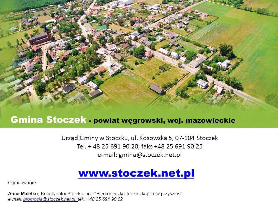 www.stoczek.net.pl Gmina Stoczek - powiat węgrowski, woj. mazowieckie