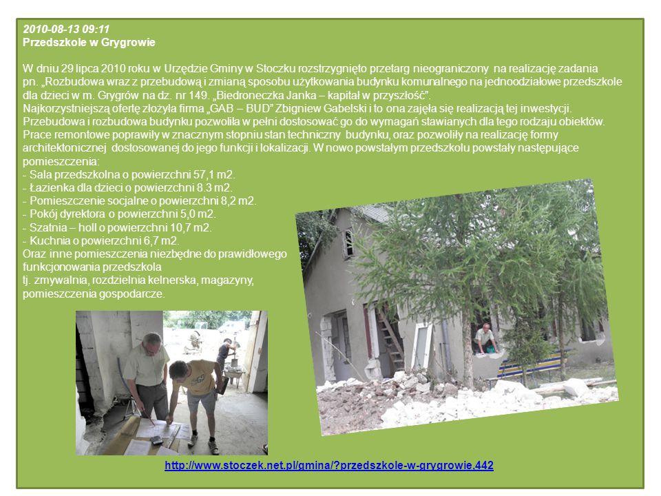 2010-08-13 09:11 Przedszkole w Grygrowie.