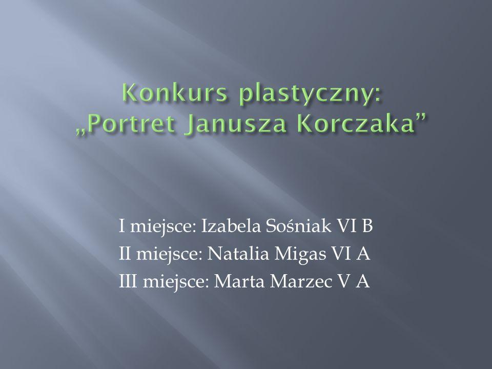 """Konkurs plastyczny: """"Portret Janusza Korczaka"""