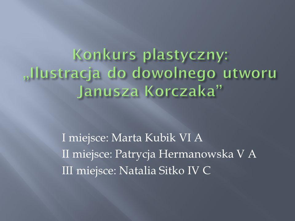 """Konkurs plastyczny: """"Ilustracja do dowolnego utworu Janusza Korczaka"""