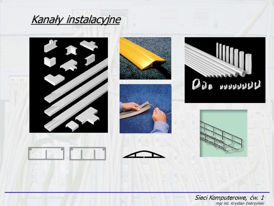Kanały instalacyjne Sieci Komputerowe, ćw. 1