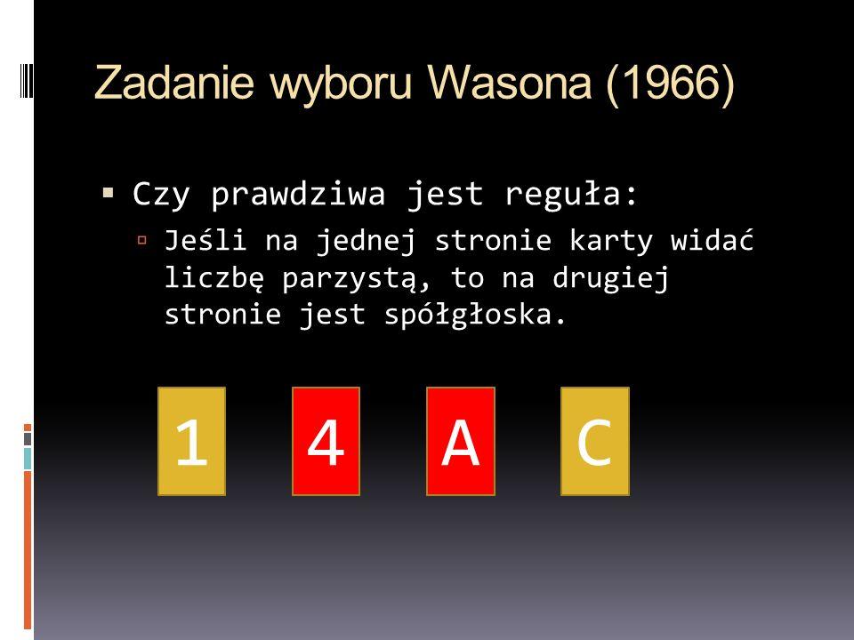 Zadanie wyboru Wasona (1966)