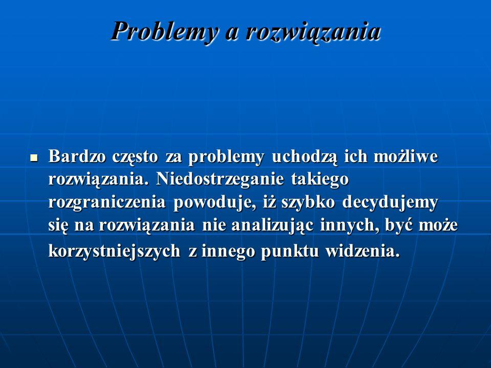 Problemy a rozwiązania