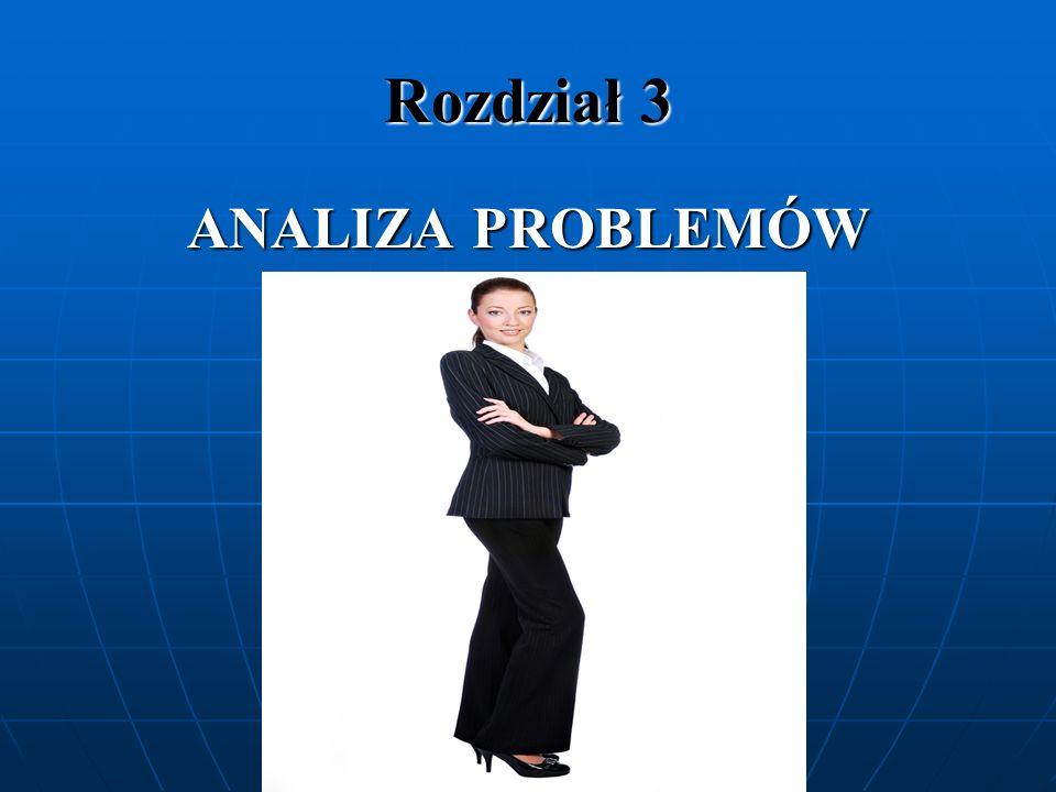 Rozdział 3 ANALIZA PROBLEMÓW