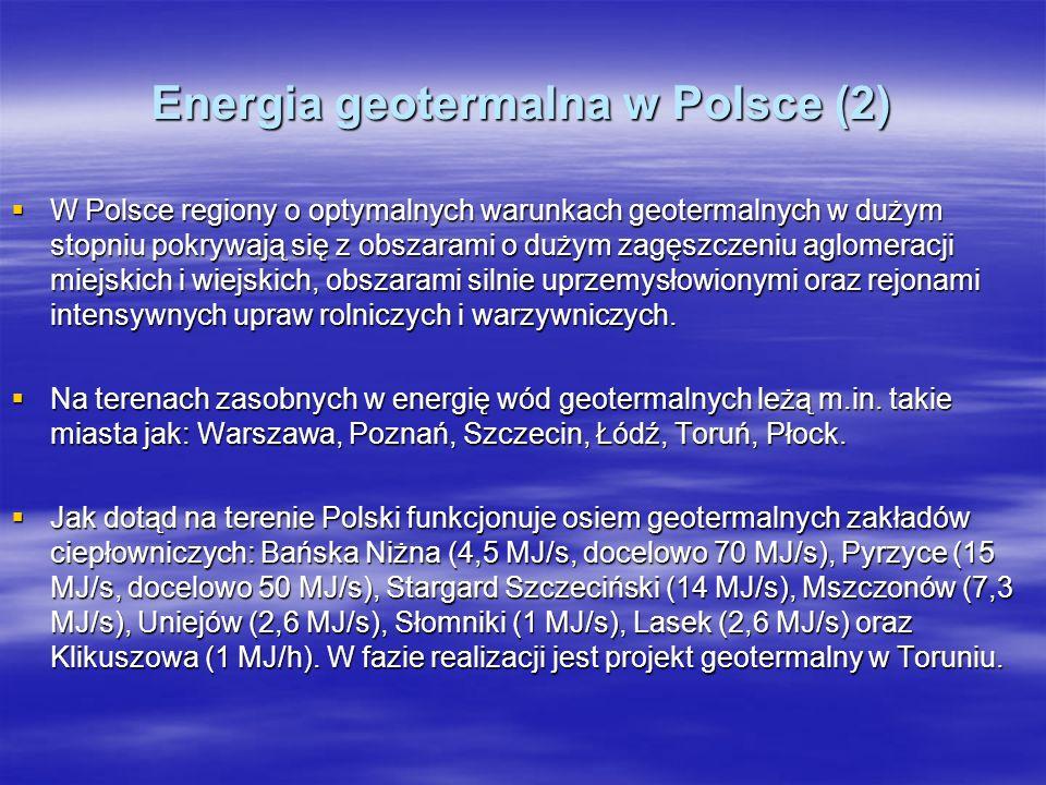 Energia geotermalna w Polsce (2)