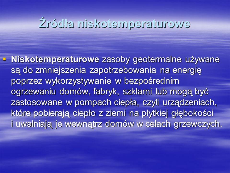 Źródła niskotemperaturowe