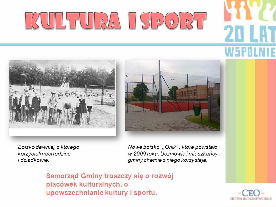 KULTURA I SPORT Boisko dawniej, z którego korzystali nasi rodzice i dziadkowie.