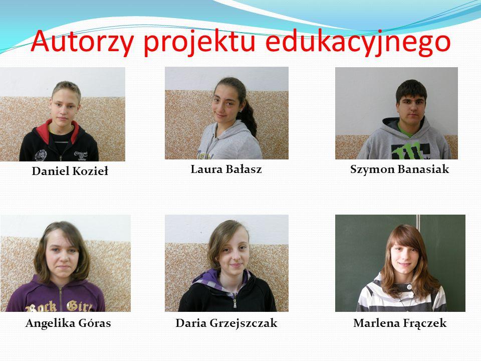Autorzy projektu edukacyjnego